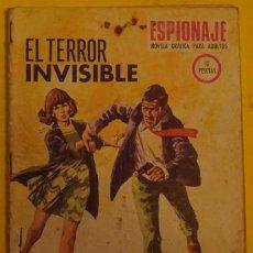Tebeos: ESPIONAJE - EL TERROR INVISIBLE NO 70 AÑO 1967 . Lote 39901663