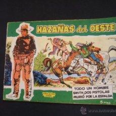 Tebeos: HAZAÑAS DEL OESTE - Nº 1 - TORAY - . Lote 40123084