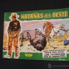 Tebeos: HAZAÑAS DEL OESTE - Nº 2 - TORAY - . Lote 40123277