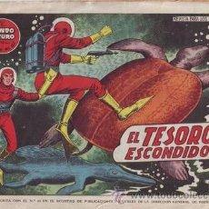 Tebeos: EL TESORO ESCONDIDO. EL MUNDO FUTURO, AÑO III Nº 57. TORAY.. Lote 40156379