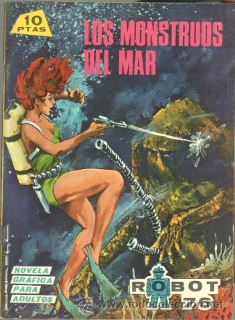 ROBOT 76 Nº 15 IMPECABLE, SIN CIRCULAR - EDI. TORAY 1967 - ANTONIO BORRELL DIBUJOS (Tebeos y Comics - Toray - Otros)