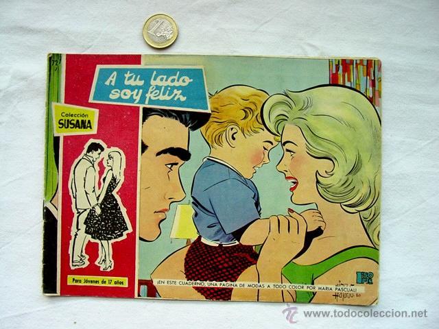 Tebeos: LOTE 13 TEBEOS COLECCIÓN SUSANA. AÑOS 50 – EDICIONES TORAY. INCLUYE ALMANAQUE 1960 - Foto 3 - 171400450