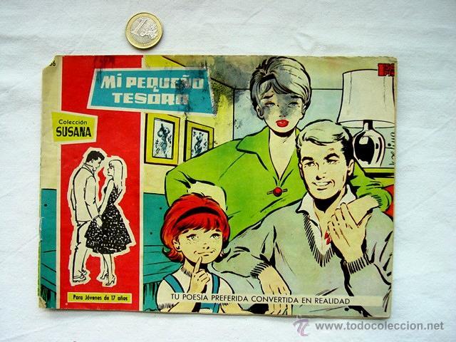 Tebeos: LOTE 13 TEBEOS COLECCIÓN SUSANA. AÑOS 50 – EDICIONES TORAY. INCLUYE ALMANAQUE 1960 - Foto 5 - 171400450