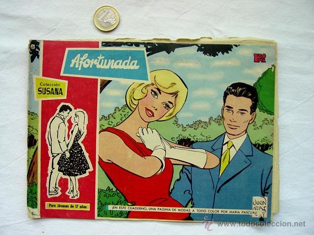 Tebeos: LOTE 13 TEBEOS COLECCIÓN SUSANA. AÑOS 50 – EDICIONES TORAY. INCLUYE ALMANAQUE 1960 - Foto 7 - 171400450