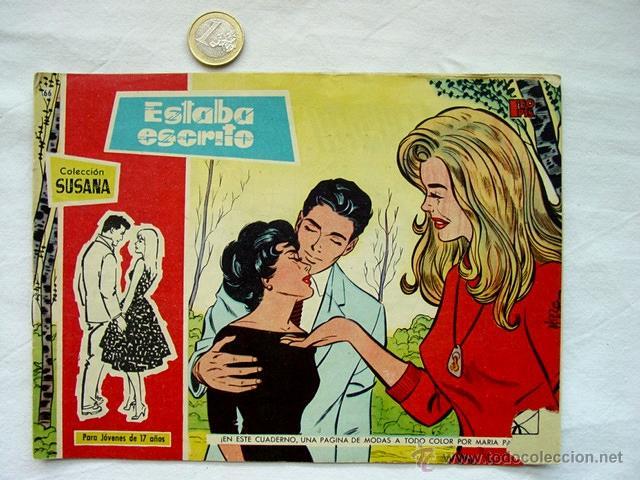 Tebeos: LOTE 13 TEBEOS COLECCIÓN SUSANA. AÑOS 50 – EDICIONES TORAY. INCLUYE ALMANAQUE 1960 - Foto 11 - 171400450