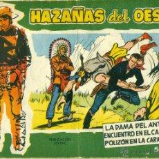 Tebeos: HAZAÑAS DEL OESTE Nº 21 ALBUM. Lote 40413488