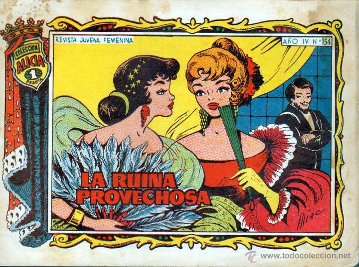 TEBEOS-COMICS GOYO - ALICIA - TORAY 1955 - Nº 154 - GLORIA - CORRONS *AA99 (Tebeos y Comics - Toray - Alicia)