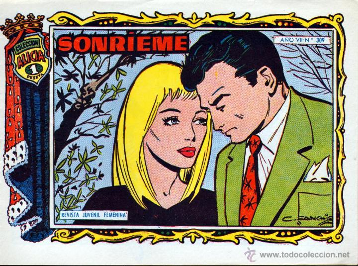 TEBEOS-COMICS GOYO - ALICIA - TORAY 1955 - Nº 309 - SANCHIS *BB99 (Tebeos y Comics - Toray - Alicia)