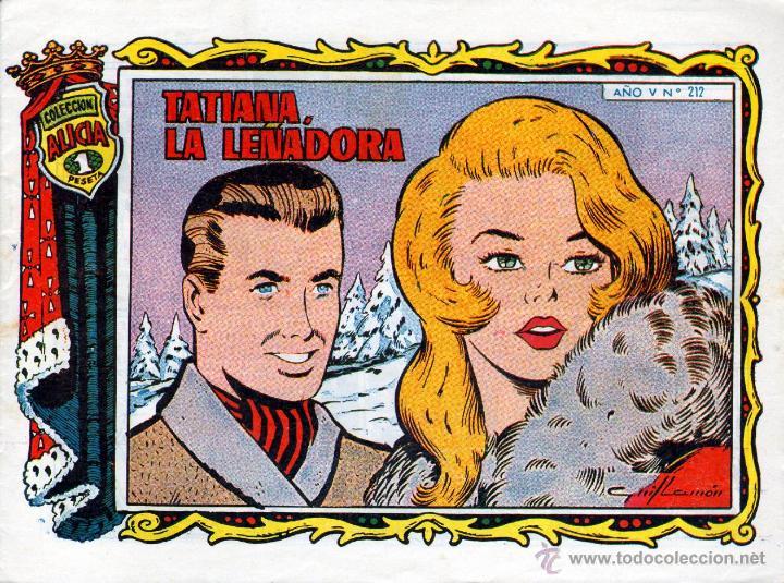 TEBEOS-COMICS GOYO - ALICIA - TORAY 1955 - Nº 212 - GUILLAMON - BREA *BB99 (Tebeos y Comics - Toray - Alicia)