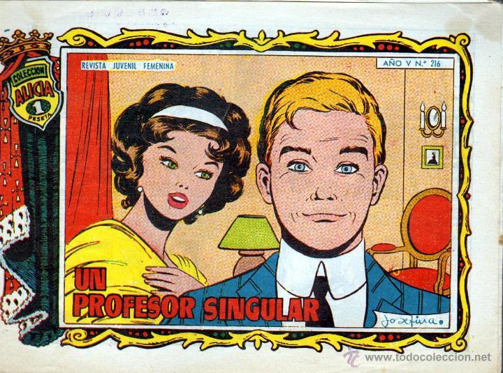 TEBEOS-COMICS GOYO - ALICIA - TORAY 1955 - Nº 216 - JOSEFINA - BREA *AA99 (Tebeos y Comics - Toray - Alicia)