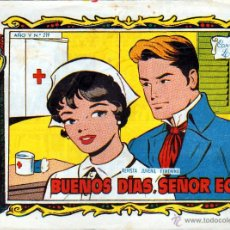 Tebeos: TEBEOS-COMICS GOYO - ALICIA - TORAY 1955 - Nº 219 - CARMEN LEVI - BREA *UU99. Lote 137814865