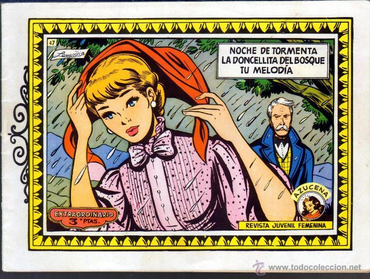 TEBEOS-COMICS GOYO - AZUCENA - Nº 47 - EXTRAORDINARIO - 1958 - *BB99 (Tebeos y Comics - Toray - Azucena)