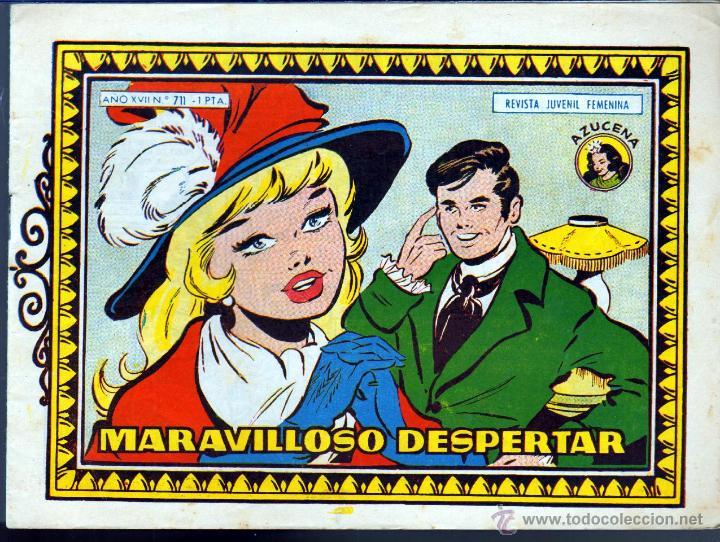 TEBEOS-COMICS GOYO - AZUCENA - Nº 711 - 2ª SERIE - 1948 - TORAY - DIFICIL *BB99 (Tebeos y Comics - Toray - Azucena)