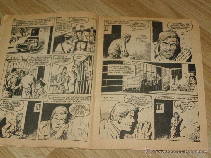 Tebeos: ESPIONAJE nº 34 - MORIR EN LA SOMBRA - 8 PTS. - AÑO 1966 - Novela gráfica adultos. - Foto 4 - 40576818