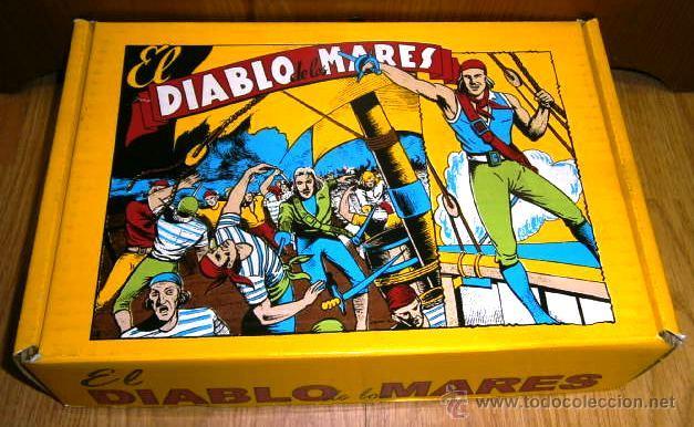 EL DIABLO DE LOS MARES 68 Nº (COMPLETA) REEDICIÓN FACSIMILAR NUEVA (Tebeos y Comics - Toray - Diablo de los Mares)