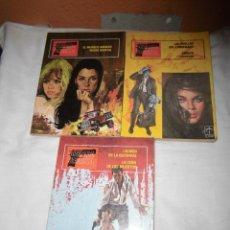 Tebeos: BRIGADA SECRETA TOMOS 1,2 Y 3 EDICIONES TORAY 1982. Lote 40908176