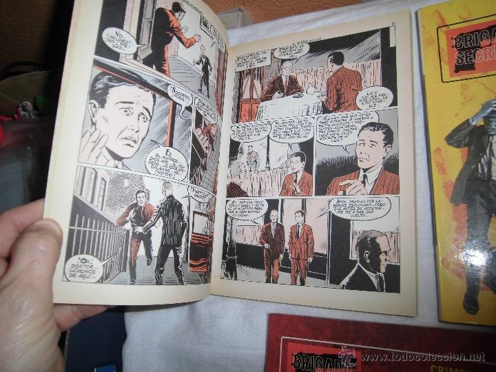 Tebeos: BRIGADA SECRETA TOMOS 1,2 Y 3 EDICIONES TORAY 1982 - Foto 4 - 40908176