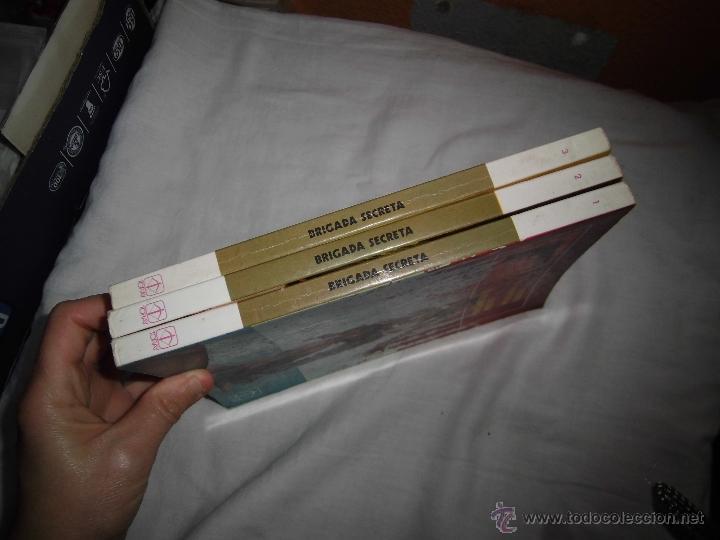 Tebeos: BRIGADA SECRETA TOMOS 1,2 Y 3 EDICIONES TORAY 1982 - Foto 5 - 40908176