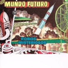 Tebeos: MUNDO FUTURO(REEDICIÓN).LOTE 27 NÚMEROS.BOIXCAR.. Lote 45661978