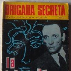Tebeos: LA CABEZA DE MEDUSA NO.183 BRIGADA SECRETA. Lote 41006092