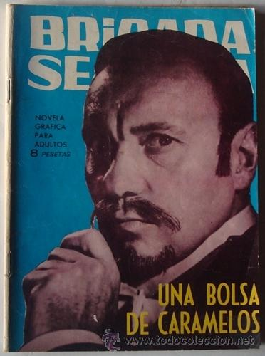 UNA BOLSA DE CARAMELOS NO.98 BRIGADA SECRETA (Tebeos y Comics - Toray - Brigada Secreta)