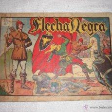 Tebeos: FLECHA NEGRA 3 PTAS 1949 , CONTIENE 3 NÚMEROS. Lote 41065034