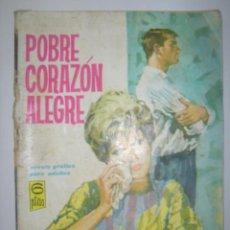 Tebeos: SALOMÉ. POBRE CORAZÓN ALEGRE. Nº68. 1963. MIDE: 16,8 X 12 CMS.. Lote 41129170