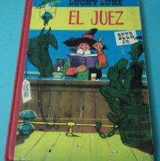 Tebeos: EL JUEZ. LUCKY LUKE. TEXTO E ILUSTRACIONES DE MORRIS. EDICIONES TORAY. 1964. Lote 59204315