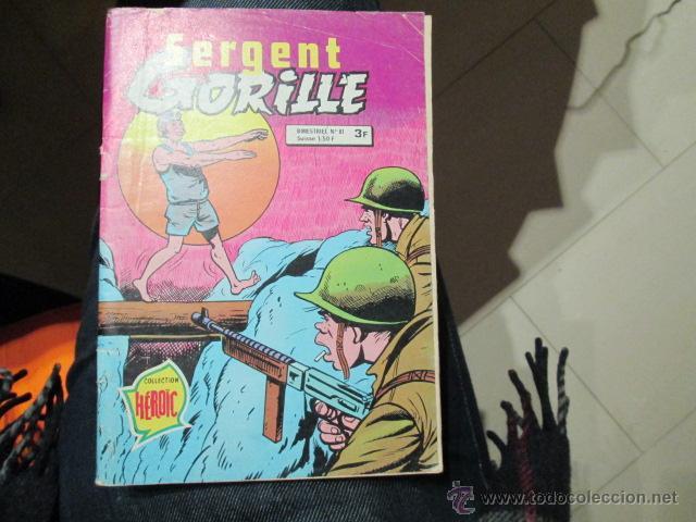 SARGENTO GORILA 98 PAGINAS EDICION FRANCESA (Tebeos y Comics - Toray - Hazañas Bélicas)