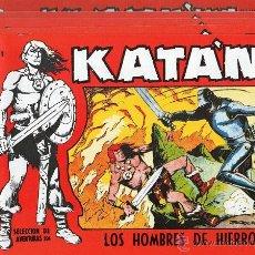 BDs: LOTE DE 5 CÓMICS DE KATÁN. EDITORIAL TORAY, S.A. EN 1958. ESTADO DE CONSERVACIÓN: EXCELENTE. . Lote 41387755