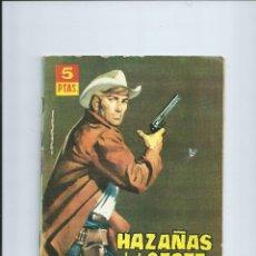 Tebeos: HAZAÑAS DEL OESTE Nº 55 ED. TORAY (1962). Lote 41683329