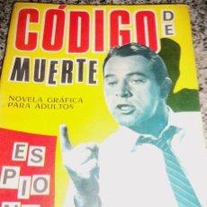 Tebeos: CODIGO DE MUERTE , POR S. DULCET - DIBUJOS: J. BADÍA - TORAY - ESPAÑA - 1966. Lote 41793115