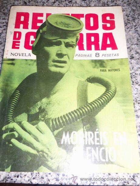 MORIREIS EN SILENCIO, POR ALEX SIMMONS - DIBUJOS: J. BOIX - TORAY - ESPAÑA - 1963 (Tebeos y Comics - Toray - Brigada Secreta)