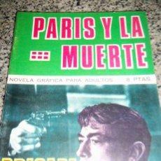 Tebeos: PARIS Y LA MUERTE, POR M. LAGRESA - DIBUJOS: J. GUAL - TORAY - ESPAÑA - 1966. Lote 41793145