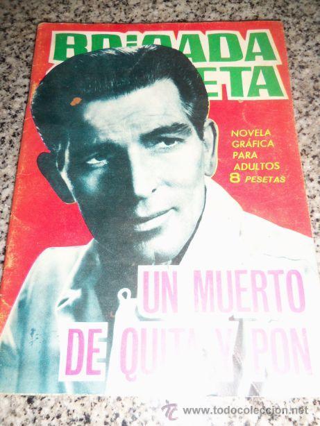 UN MUERTO DE QUITA Y PON, POR LOUIS MILK - DIBUJOS: J.GARCÍA PIZARRO - TORAY - ESPAÑA - 1965 (Tebeos y Comics - Toray - Brigada Secreta)