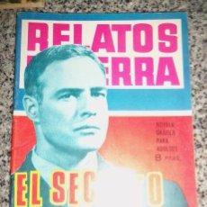 Tebeos: EL SECRETO DE UN TRAIDOR, POR M. LAGRESA - DIB.: J. FORNS - SERIE RELATOS DE GUERRA - ESPAÑA - 1965. Lote 41793160