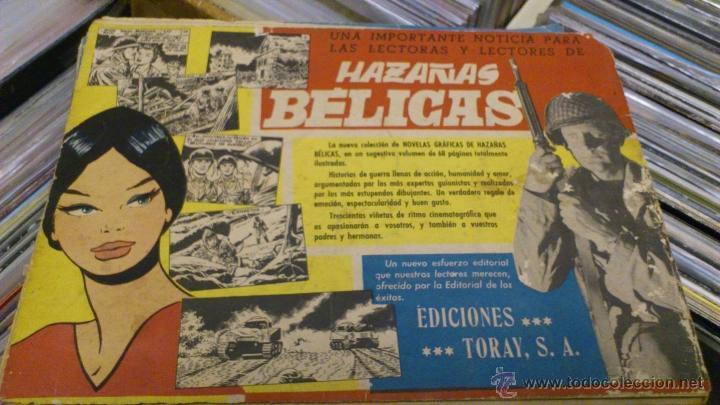 Tebeos: Lote de 5 numeros de Azañas belicas 5 pts numeros 98-125-159-207 1965 1958 - Foto 3 - 41858910