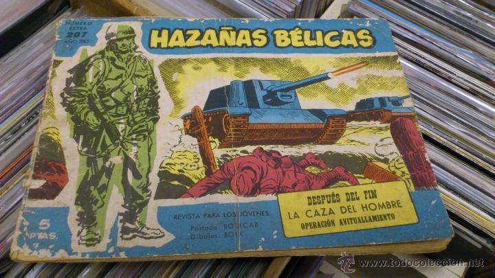 Tebeos: Lote de 5 numeros de Azañas belicas 5 pts numeros 98-125-159-207 1965 1958 - Foto 4 - 41858910