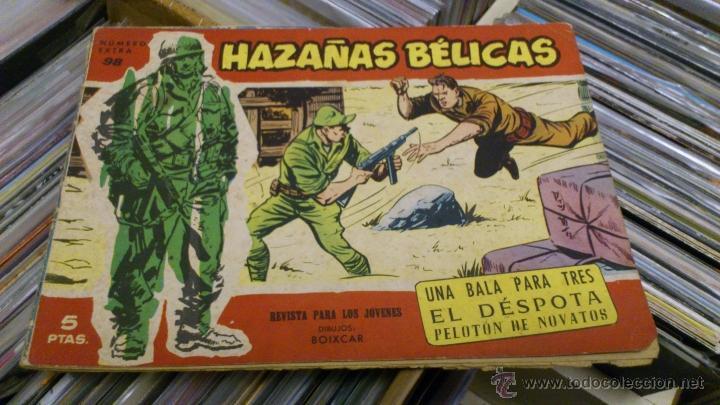 Tebeos: Lote de 5 numeros de Azañas belicas 5 pts numeros 98-125-159-207 1965 1958 - Foto 5 - 41858910