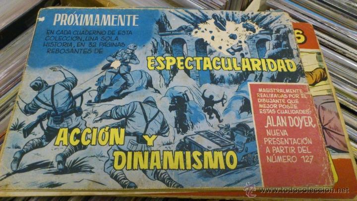 Tebeos: Lote de 5 numeros de Azañas belicas 5 pts numeros 98-125-159-207 1965 1958 - Foto 9 - 41858910