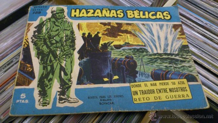 Tebeos: Lote de 5 numeros de Azañas belicas 5 pts numeros 98-125-159-207 1965 1958 - Foto 11 - 41858910
