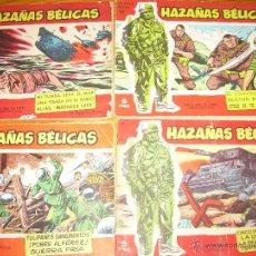 Tebeos: HAZAÑAS BELICAS ESPECIAL ROJA (LOTE 4 COMICS) Nº 6-27-71-78. Lote 42108153