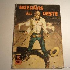 Tebeos: HAZAÑAS DEL OESTE. Nº 38 TORAY. . Lote 42275767