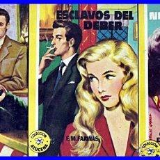 Tebeos: 1957: 3 TOMOS DE LA COLECCIÓN AZUCENA. EDITORIAL: TORAY (BARCELONA). Lote 42624596