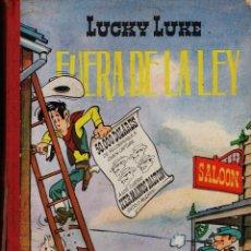 Tebeos: COMIC LUCKY LUKE - FUERA DE LA LEY .- ED. TORAY - TAPAS DURAS - AÑO 1969 - VER FOTO - RD2 . Lote 42651765