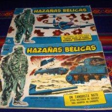 Tebeos: HAZAÑAS BÉLICAS EXTRA AZUL NºS 178, 250, 259(3), 260(3), 327, 363, 366. TAMBIÉN SUELTOS.. Lote 42848905