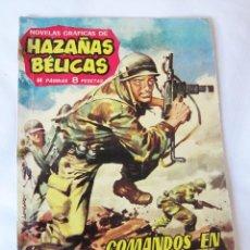 Tebeos: COMANDOS EN OKINAWA - HAZAÑAS BELICAS - 1962 - BUEN ESTADO. Lote 42889485