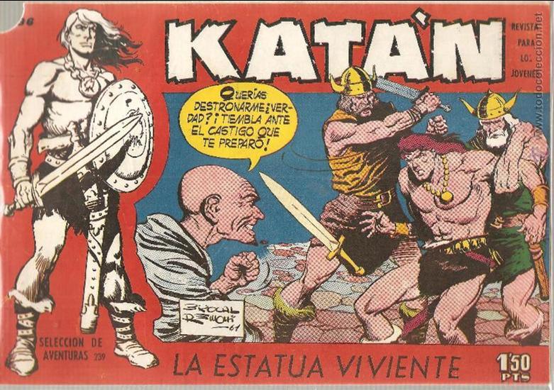 KATAN Nº 36 (Tebeos y Comics - Toray - Katan)