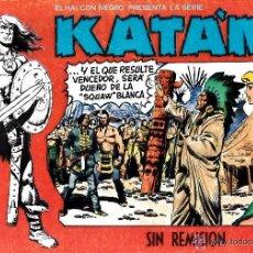 BDs: KATAN Nº6 . EL HALCON NEGRO - SIN REMISION / COMIC-006. Lote 43303454