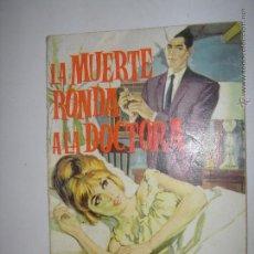 Tebeos: LA MUERTE RONDA A LA DOCTORA. SALOME. EDICIONES TORAY S.A.1963. 12 X 17,5 CM. Lote 43364628